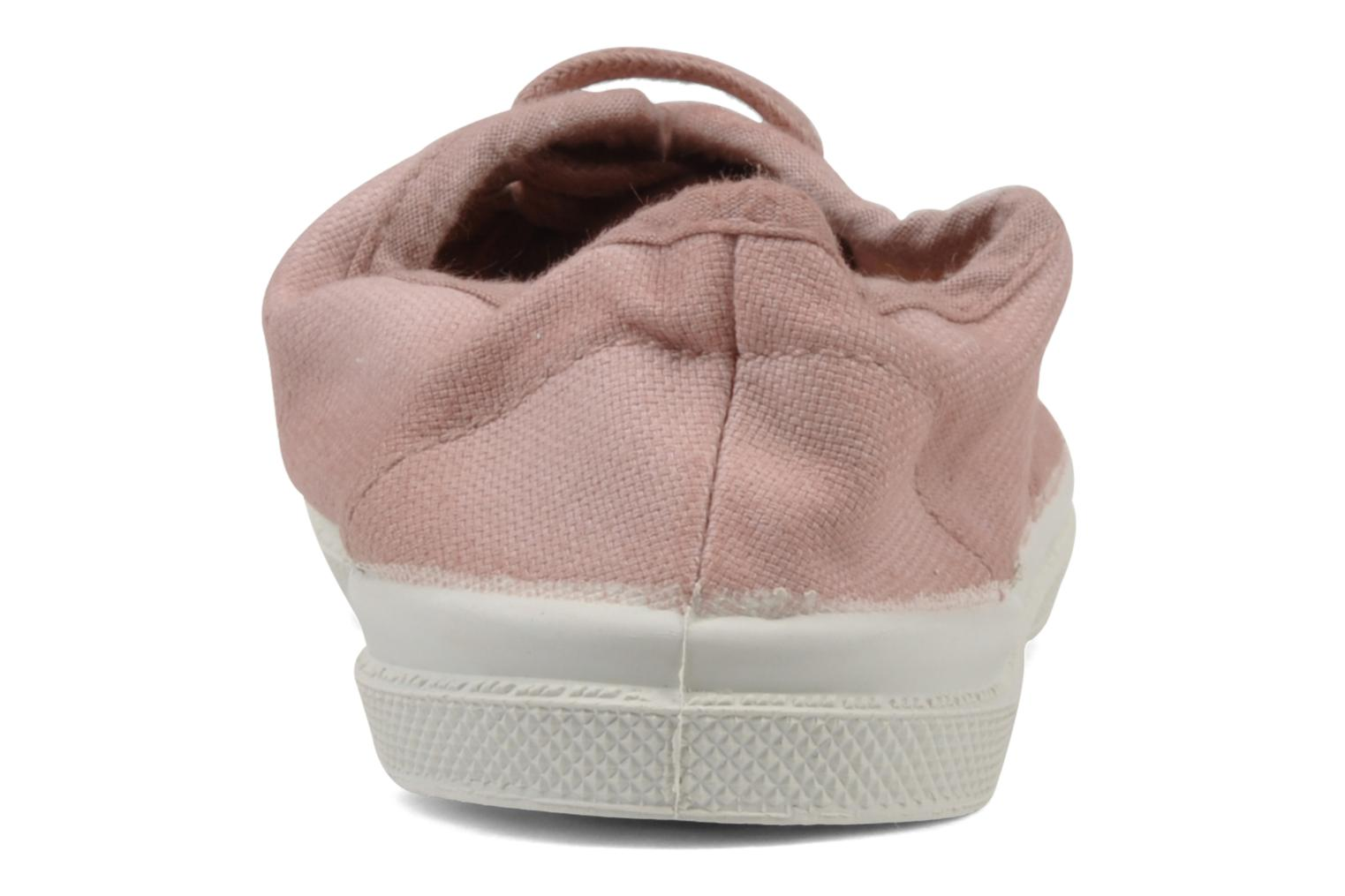 Trainers Bensimon Tennis Lacets E Pink view from the right