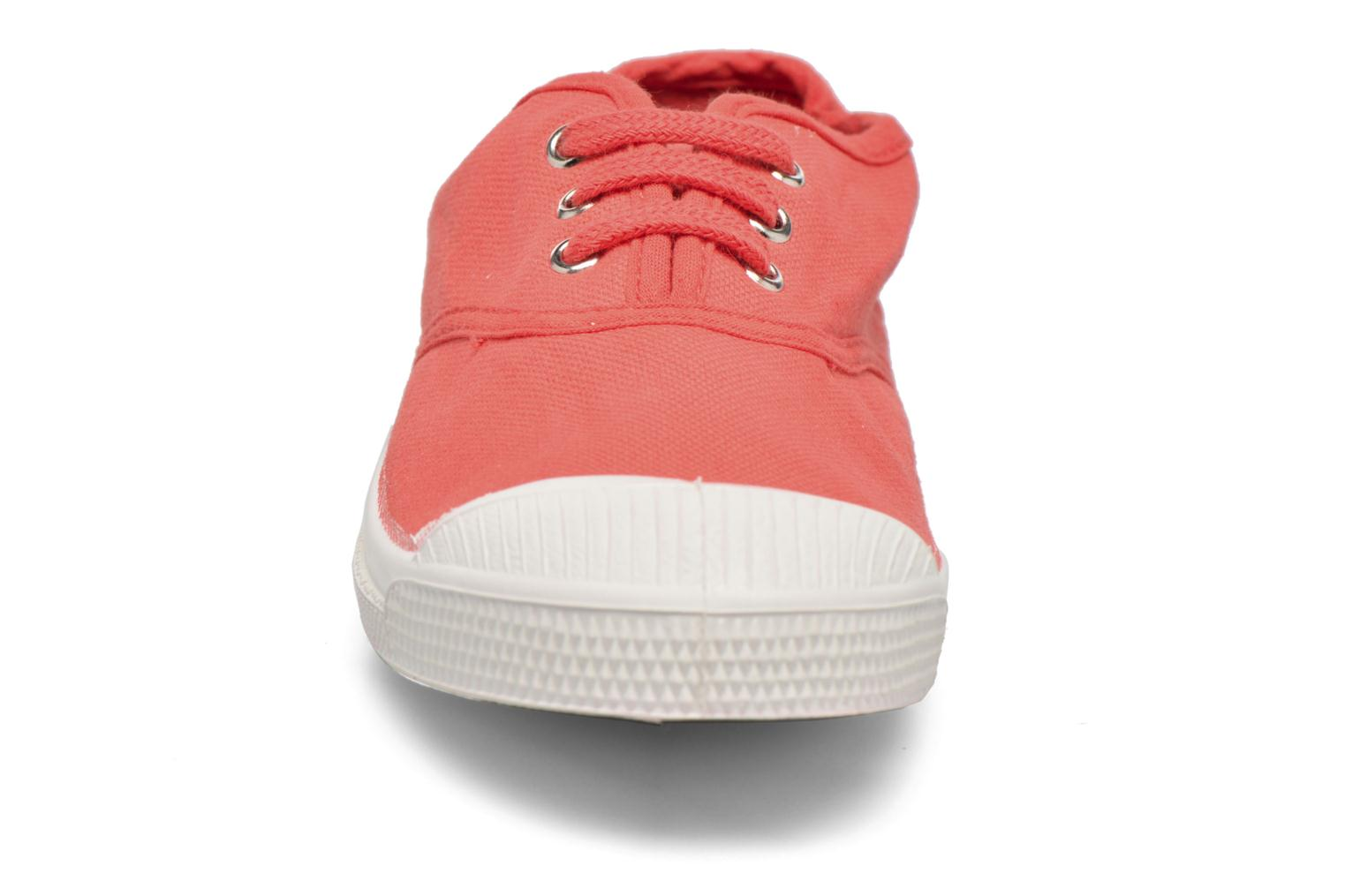 Trainers Bensimon Tennis Lacets E Red model view