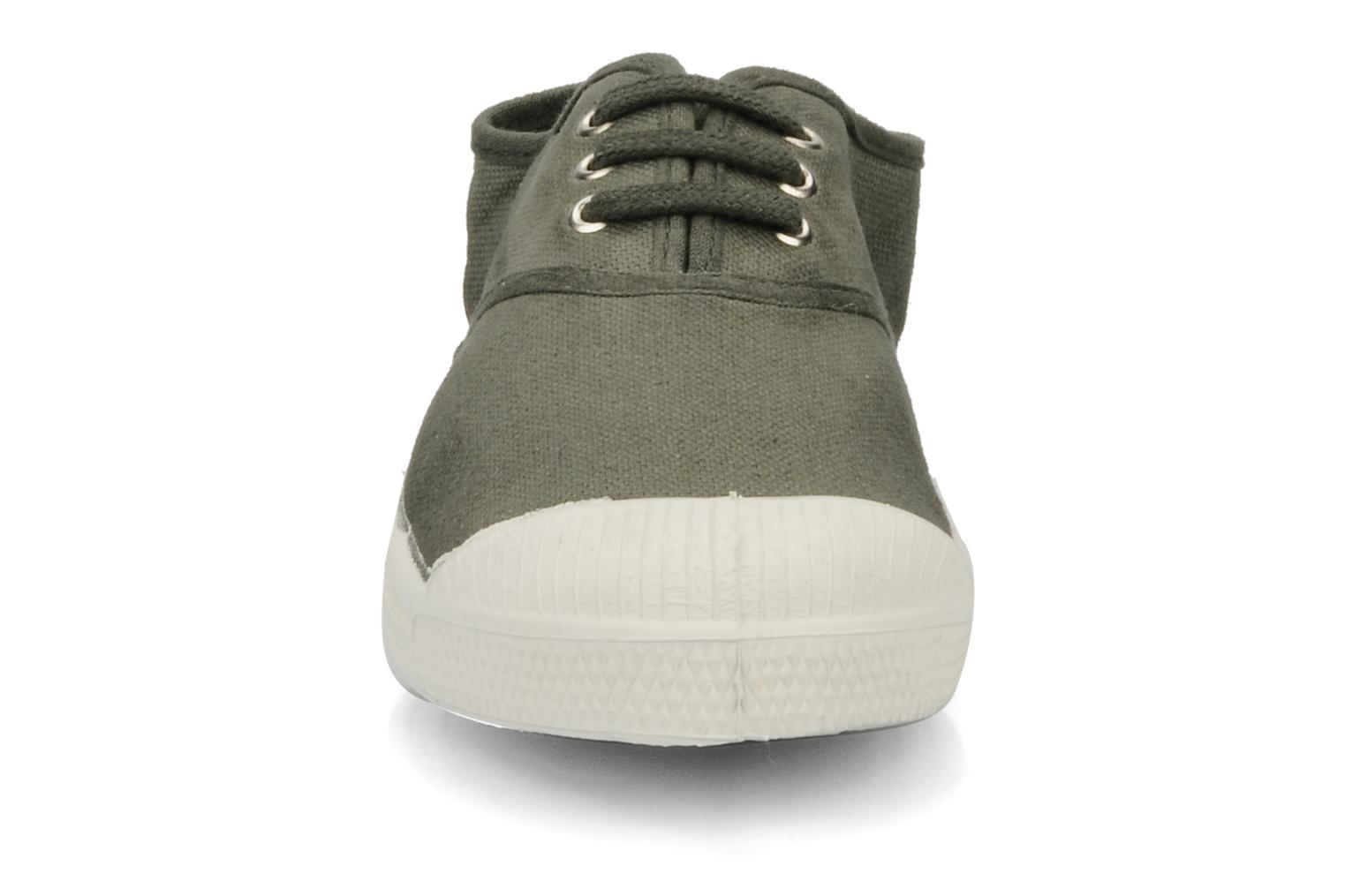 Trainers Bensimon Tennis Lacets E Green model view