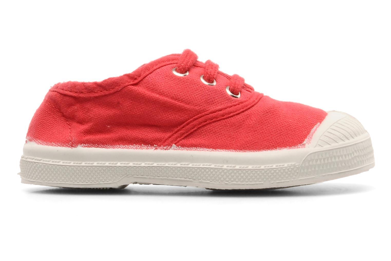 Baskets Bensimon Tennis Lacets E Rouge vue derrière