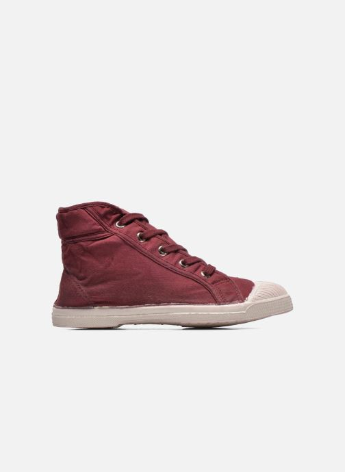 Trainers Bensimon Tennis Mid E Burgundy back view