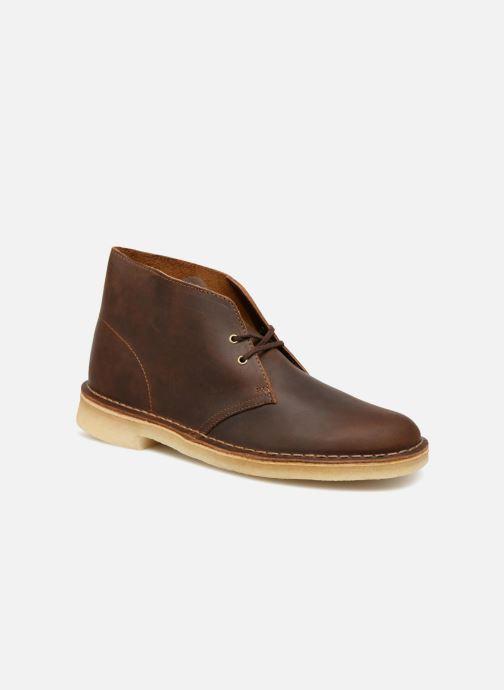 e08d59d96ef8fe Clarks Desert Boot M (Brown) - Lace-up shoes chez Sarenza (334862)