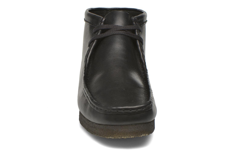 Snøresko Clarks Originals Wallabee Boot M Sort se skoene på