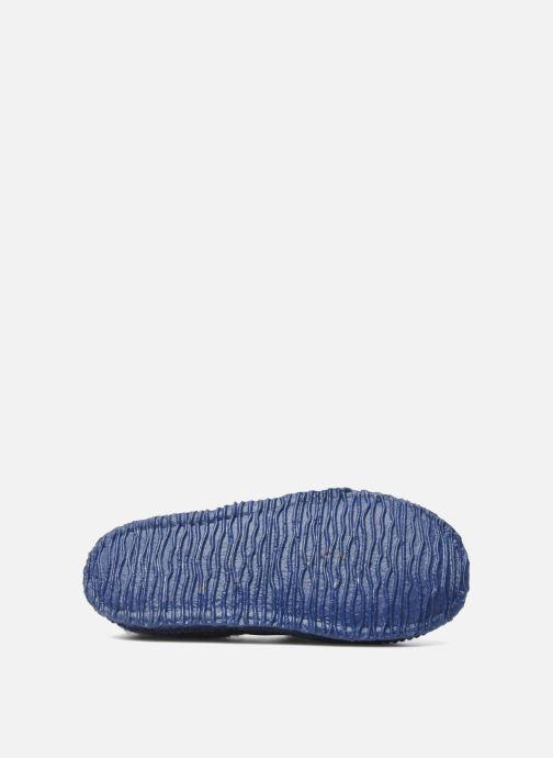 Pantoffels Giesswein Türnberg Blauw boven