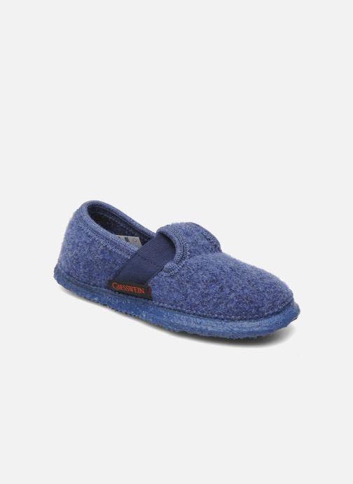 Hjemmesko Giesswein Türnberg Blå detaljeret billede af skoene