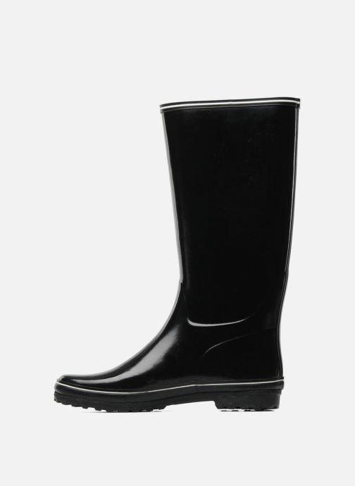 Boots & wellies Aigle Venise Black front view