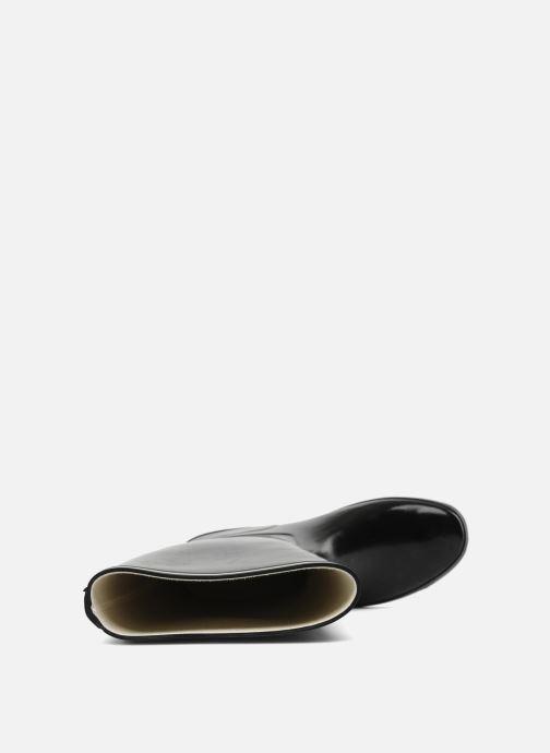 Stiefel Aigle Venise schwarz ansicht von links