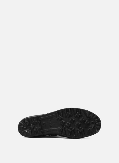 Stiefel Aigle Venise schwarz ansicht von oben