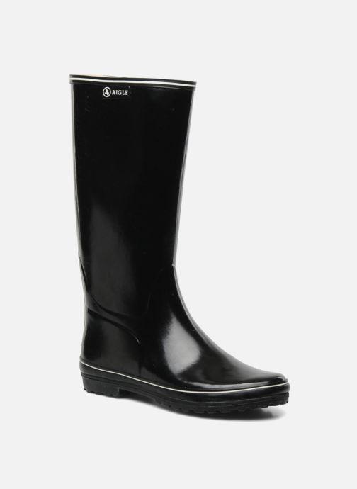 Stiefel Aigle Venise schwarz detaillierte ansicht/modell