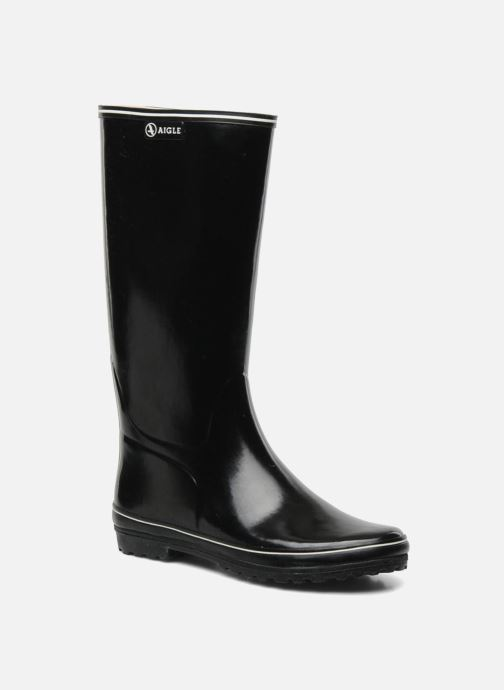 Boots & wellies Aigle Venise Black detailed view/ Pair view