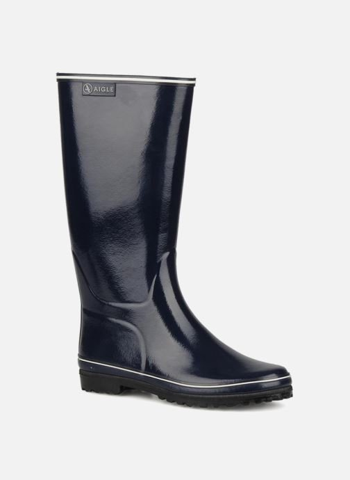 Boots & wellies Aigle Venise Blue detailed view/ Pair view