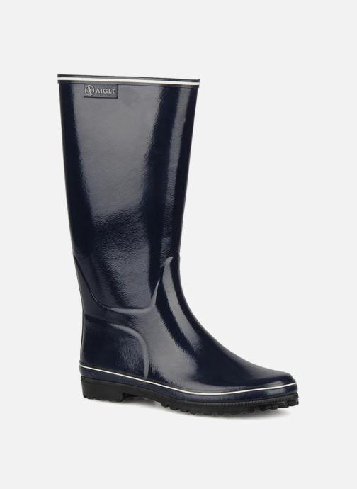 Støvler & gummistøvler Aigle Venise Blå detaljeret billede af skoene