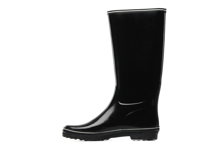 Stiefel Aigle Venise schwarz ansicht von vorne
