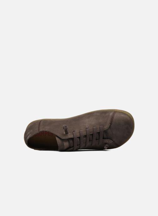Scarpe con lacci Camper Peu Cami 17665 Marrone immagine sinistra