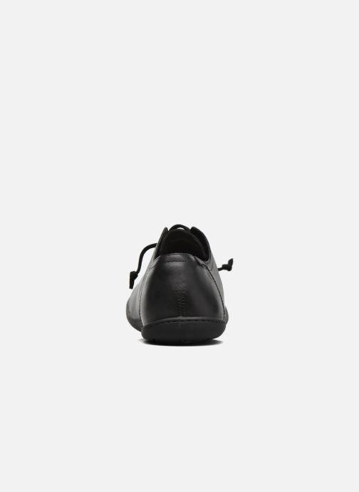 Zapatos con cordones Camper Peu Cami 17665 Negro vista lateral derecha