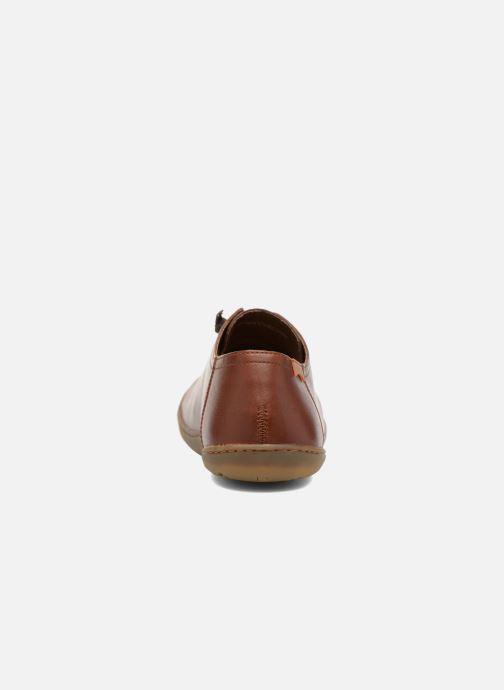 Zapatos con cordones Camper Peu Cami 17665 Marrón vista lateral derecha