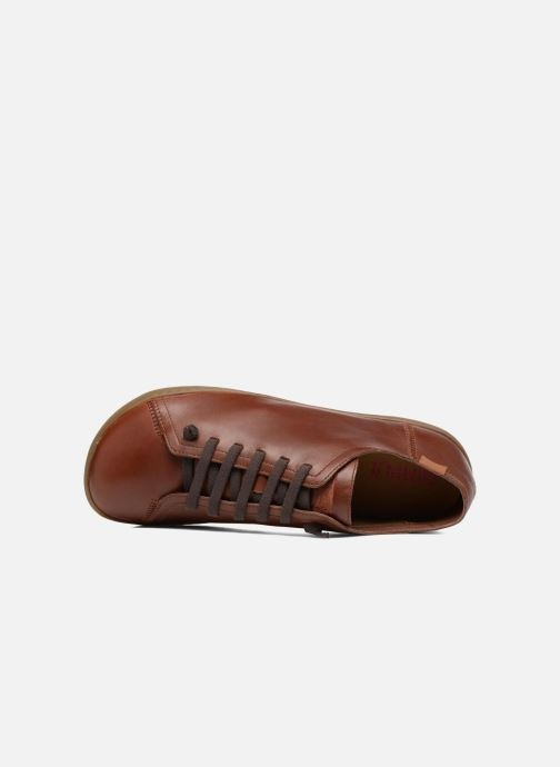 Chaussures à lacets Camper Peu Cami 17665 Marron vue gauche