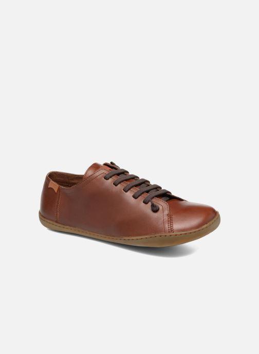 Snøresko Camper Peu Cami 17665 Brun detaljeret billede af skoene