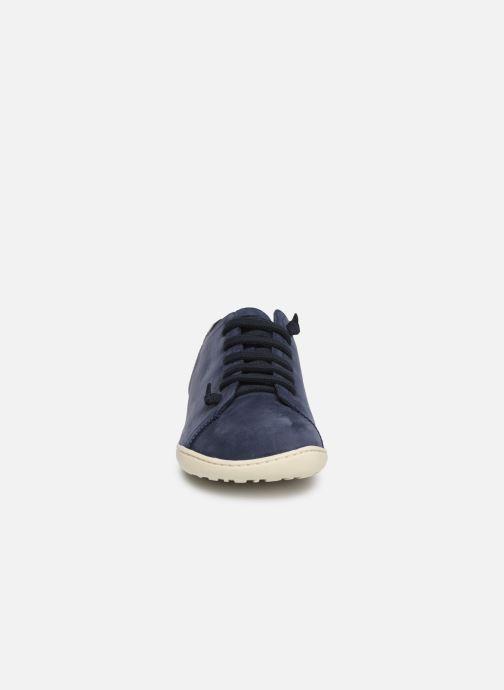 Zapatos con cordones Camper Peu Cami 17665 Azul vista del modelo