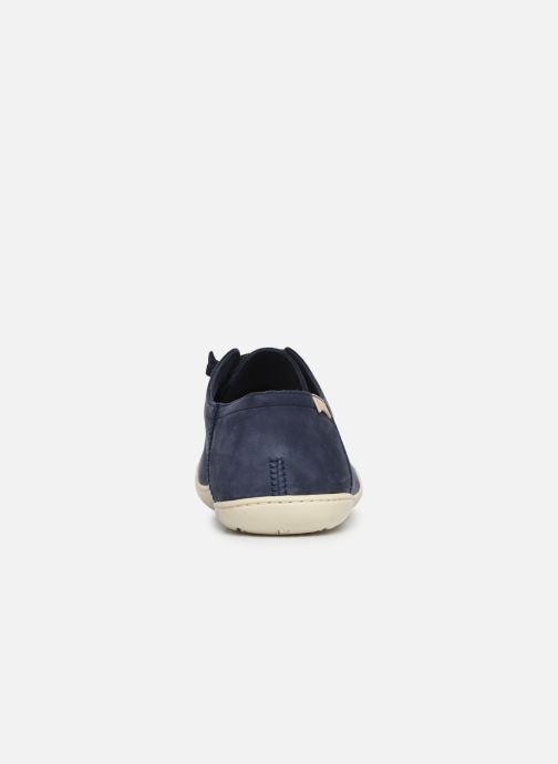 Zapatos con cordones Camper Peu Cami 17665 Azul vista lateral derecha