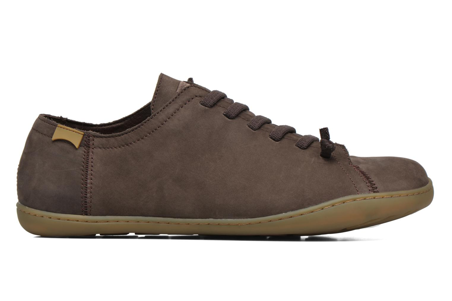 Lace-up shoes Camper Peu Cami 17665 Brown back view