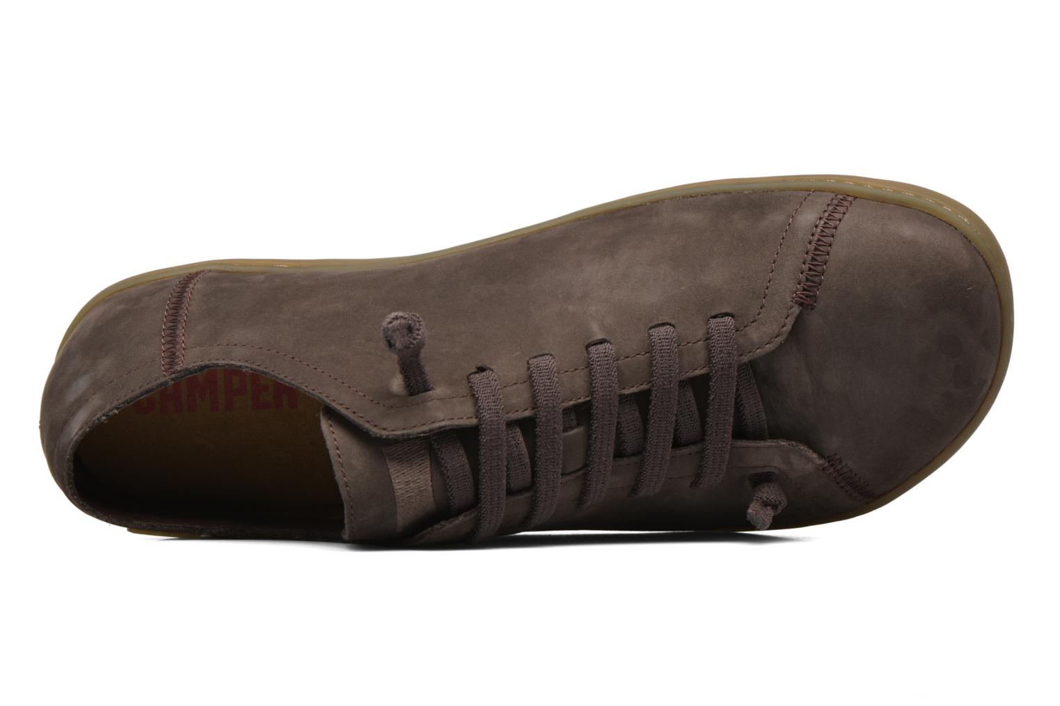 Lace-up shoes Camper Peu Cami 17665 Brown view from the left