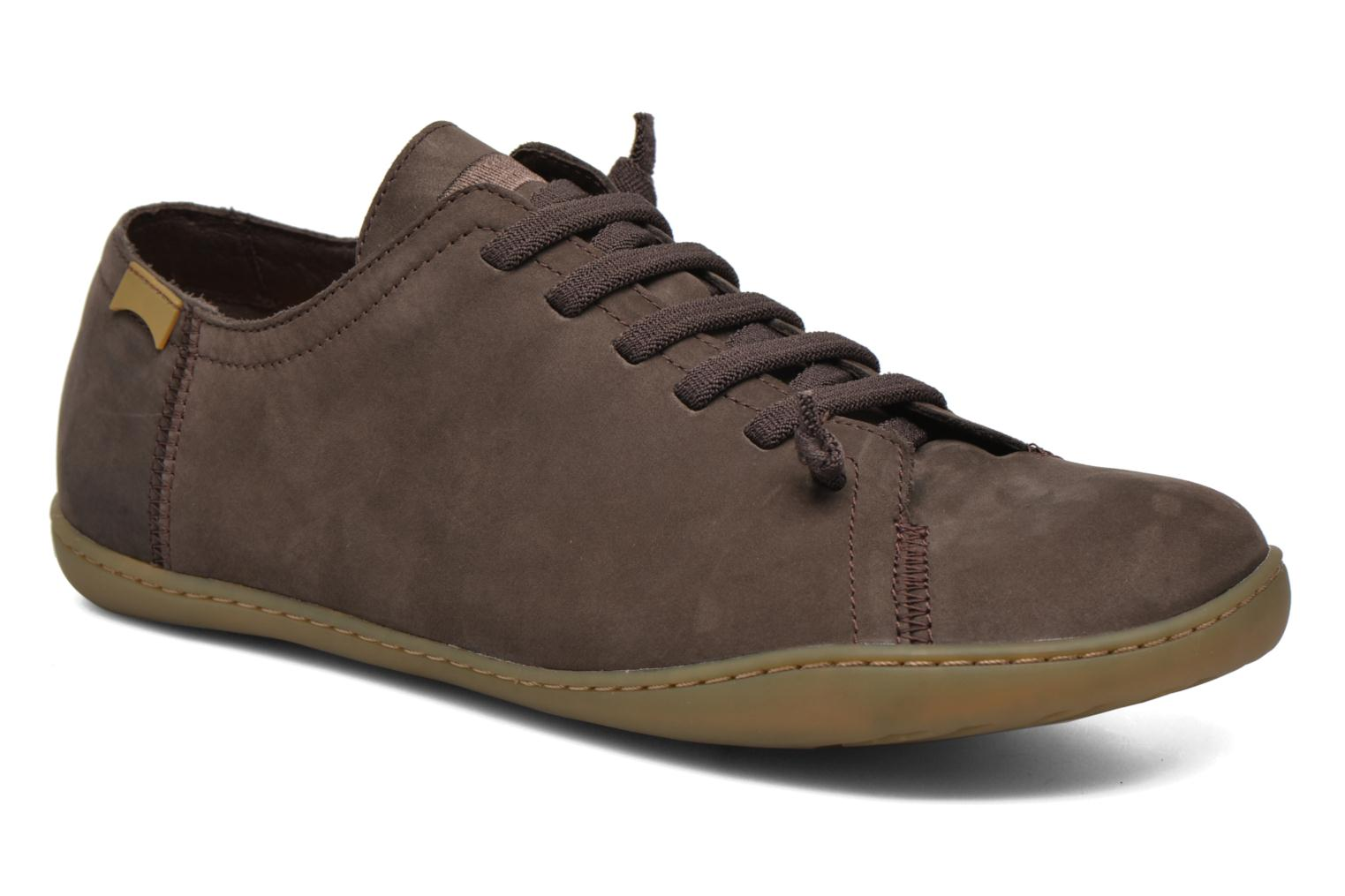 Lace-up shoes Camper Peu Cami 17665 Brown detailed view/ Pair view