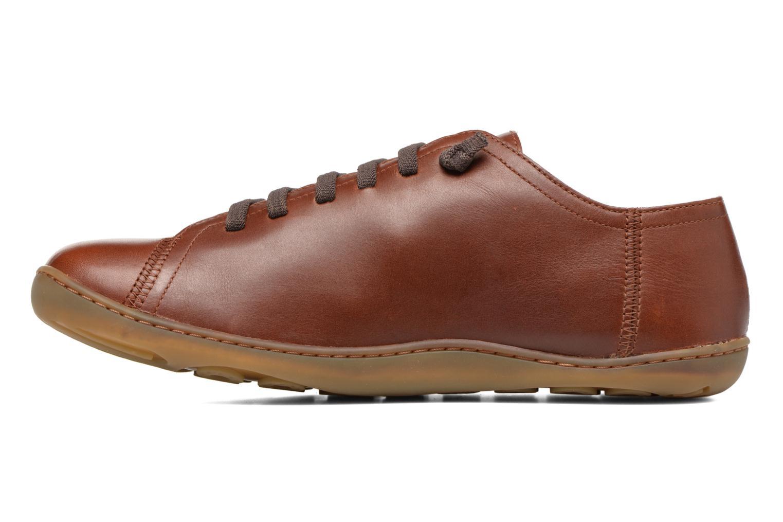 Snörade skor Camper Peu Cami 17665 Brun bild från framsidan