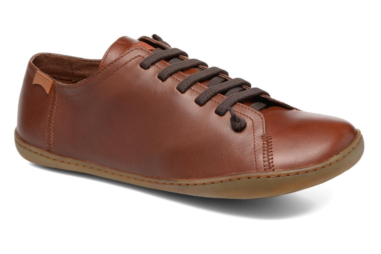 Snörade skor Camper Peu Cami 17665 Brun detaljerad bild på paret