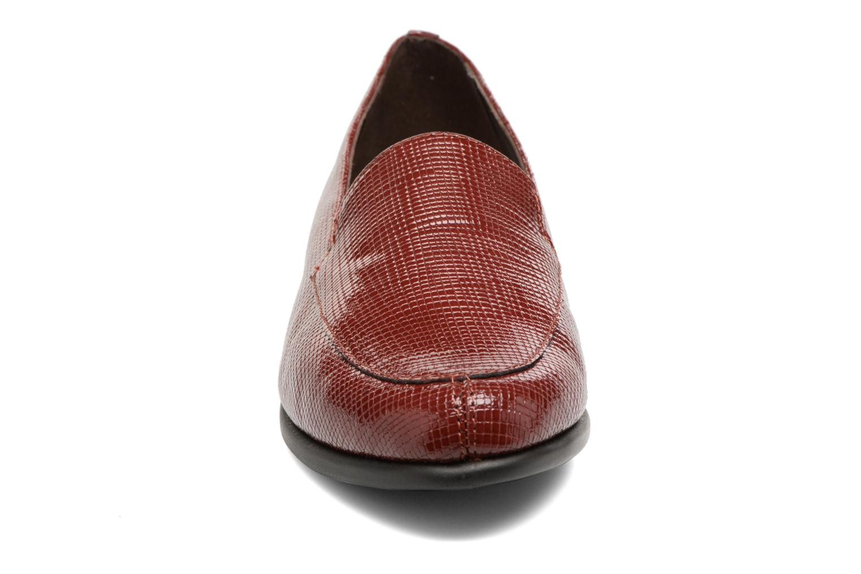 Mocassins Aerosoles Step By Step Bordeaux vue portées chaussures
