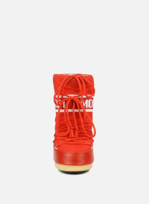 Sportschuhe Moon Boot Moon Boot Nylon E rot schuhe getragen