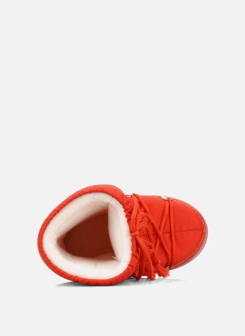 Sportschuhe Moon Boot Moon Boot Nylon E rot ansicht von links