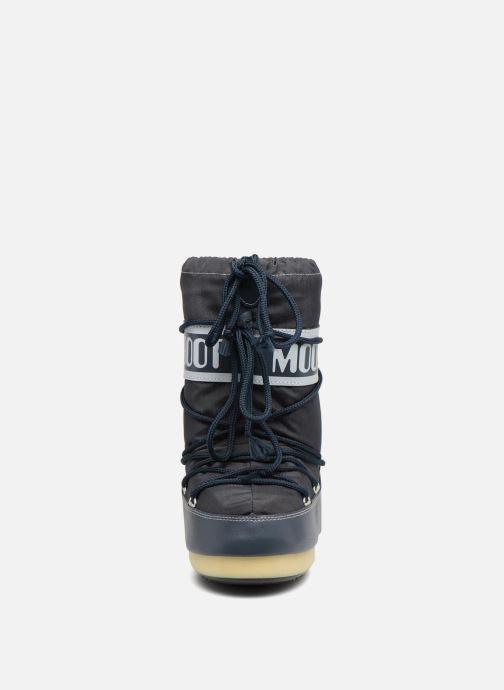 Scarpe sportive Moon Boot Moon Boot Nylon E Azzurro modello indossato