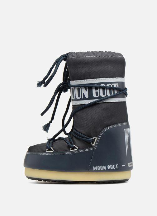 Sportssko Moon Boot Moon Boot Nylon E Blå se forfra