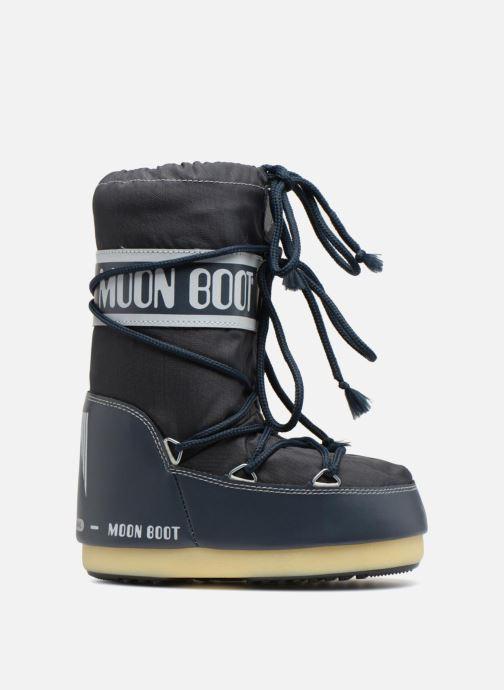 Sportssko Moon Boot Moon Boot Nylon E Blå se bagfra