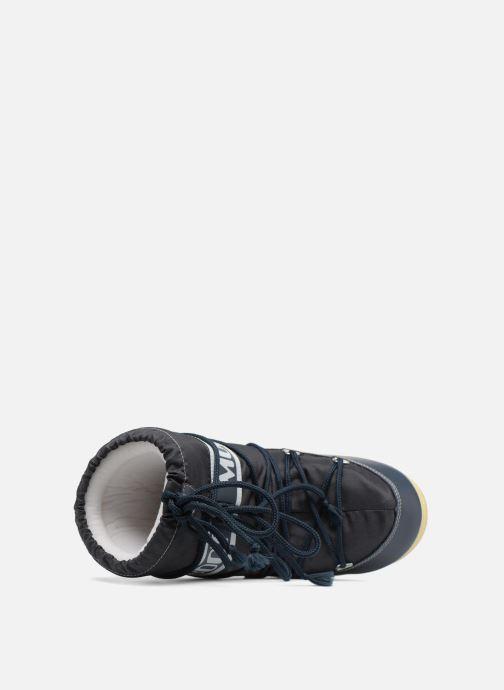 Sportssko Moon Boot Moon Boot Nylon E Blå se fra venstre