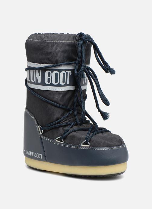 Sportssko Moon Boot Moon Boot Nylon E Blå detaljeret billede af skoene