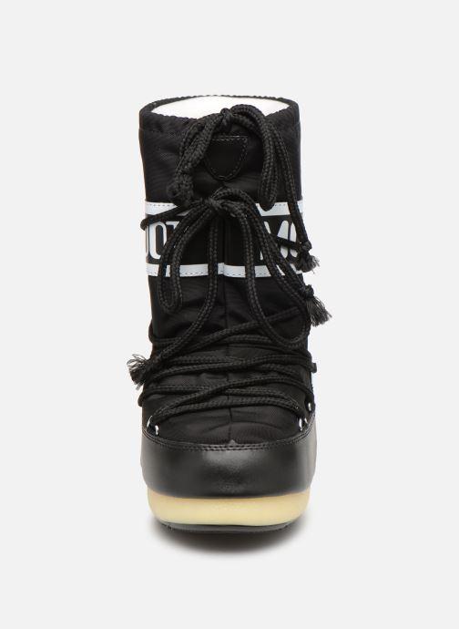 Scarpe sportive Moon Boot Moon Boot Nylon E Nero modello indossato