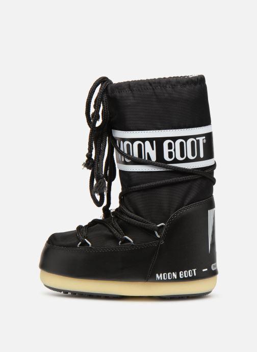 Sportssko Moon Boot Moon Boot Nylon E Sort se forfra