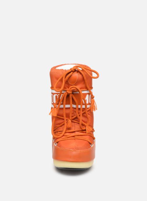 Chaussures de sport Moon Boot Moon Boot Nylon Orange vue portées chaussures