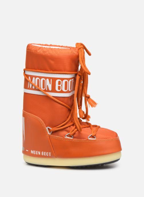 Chaussures de sport Moon Boot Moon Boot Nylon Orange vue derrière