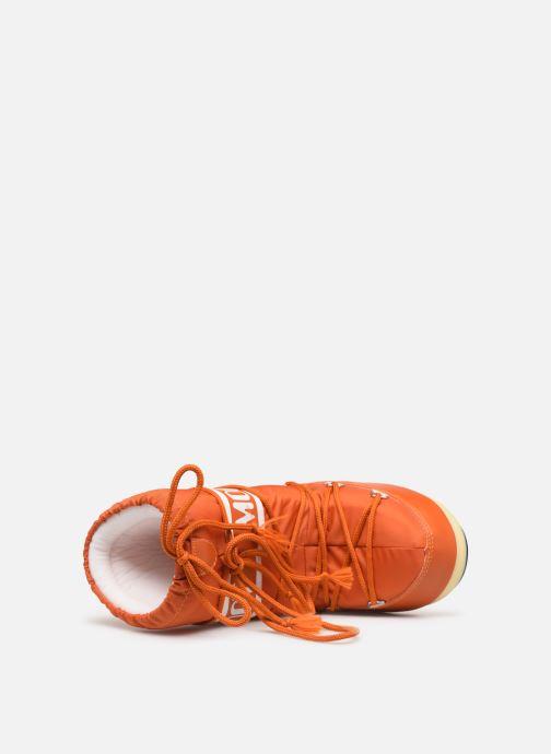 Chaussures de sport Moon Boot Moon Boot Nylon Orange vue gauche