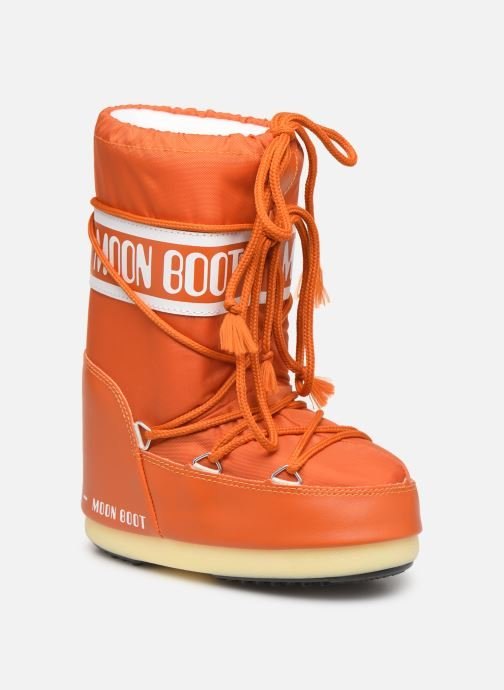 Chaussures de sport Moon Boot Moon Boot Nylon Orange vue détail/paire