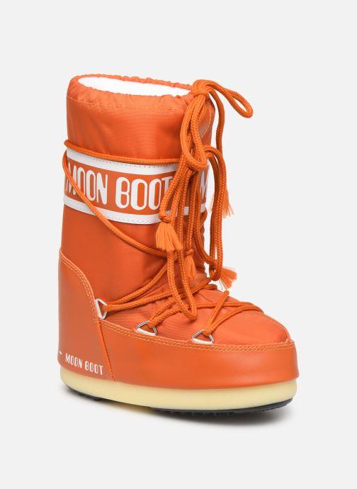 Chaussures de sport Moon Boot Moon Boot Nylon Orange vue détail/paire