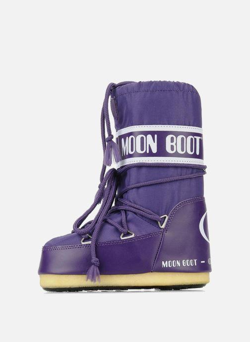 Chaussures de sport Moon Boot Moon Boot Nylon Violet vue face