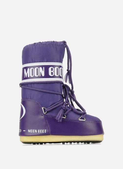Chaussures de sport Moon Boot Moon Boot Nylon Violet vue derrière