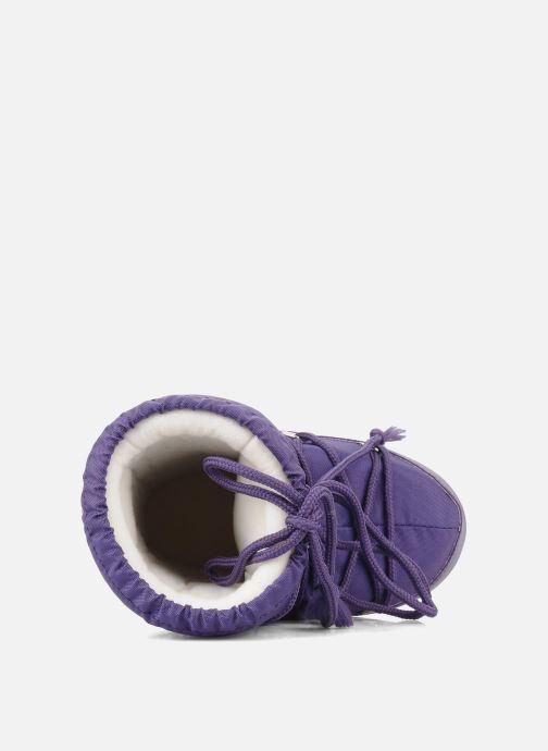 Chaussures de sport Moon Boot Moon Boot Nylon Violet vue gauche