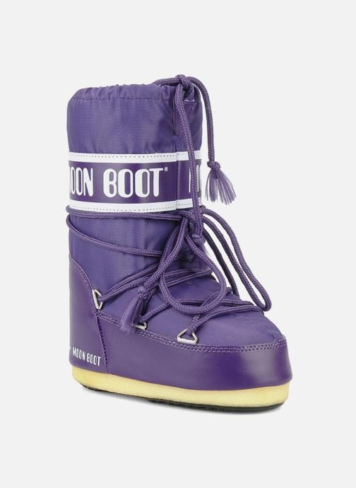 Sportschuhe Moon Boot Moon Boot Nylon E lila detaillierte ansicht/modell