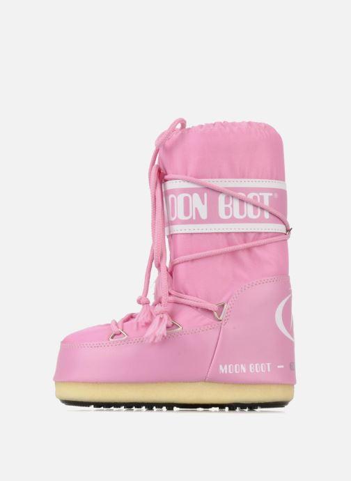 Chaussures de sport Moon Boot Moon Boot Nylon Rose vue face