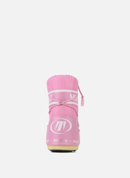 Zapatillas de deporte Moon Boot Moon Boot Nylon E Rosa vista lateral derecha